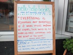 Rilke in Rockland
