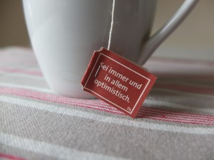Tee zum Zweiten